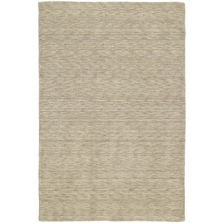 Gabbeh Hand-tufted Gold Rug - 5' x 7'6""