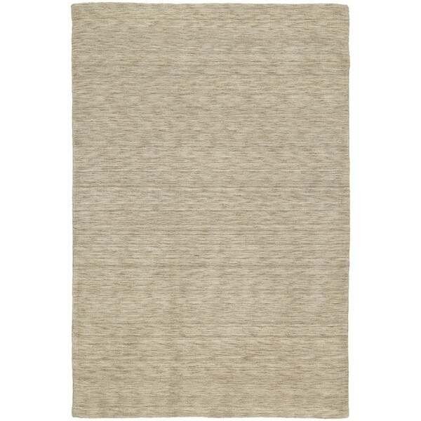 Gabbeh Hand-tufted Gold Rug - 5' x 7'6