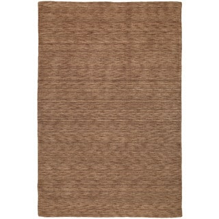 Gabbeh Hand-tufted Copper Rug - 5' x 7'6""