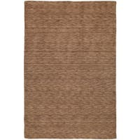 Gabbeh Hand-tufted Copper Rug - 7'6 x 9'