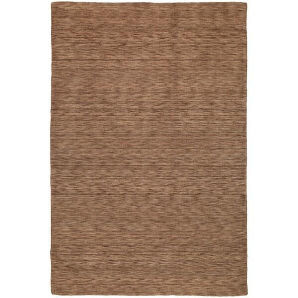 Gabbeh Hand-tufted Copper Rug - 7'6 x 9'