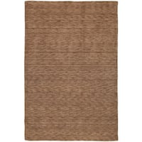 Gabbeh Hand-tufted Copper Rug - 8' x 11'