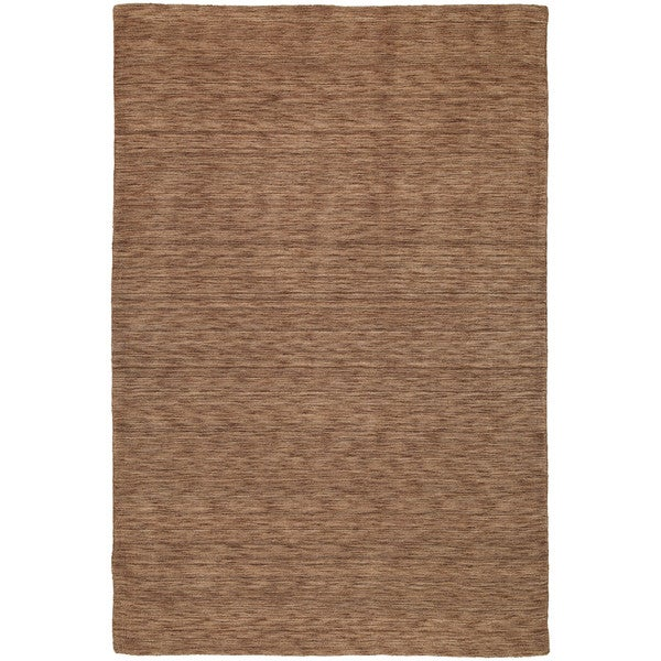 Gabbeh Hand-tufted Copper Rug - 9'6 x 13'