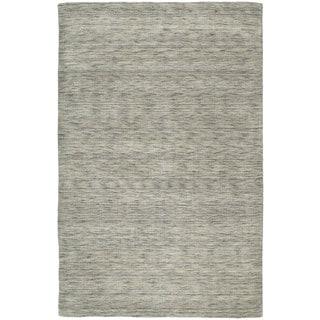 Gabbeh Hand-tufted Grey Rug (5' x 7'6)