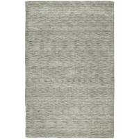Gabbeh Hand-tufted Grey Rug (8' x 11')