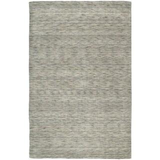 Gabbeh Hand-tufted Grey Rug (8' x 11')