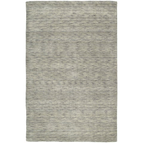 Gabbeh Hand-tufted Grey Rug (7'6 x 9')