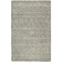 Gabbeh Hand-tufted Grey Rug (9'6 x 13')