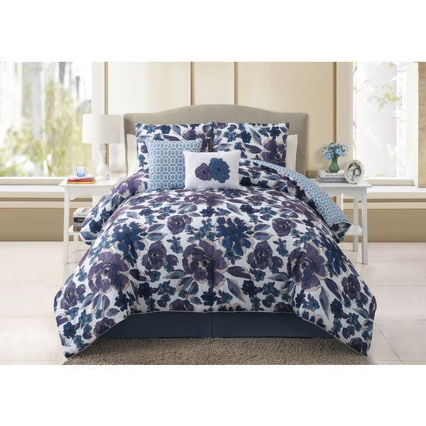 VCNY Starling 5-piece Reversible Comforter Set
