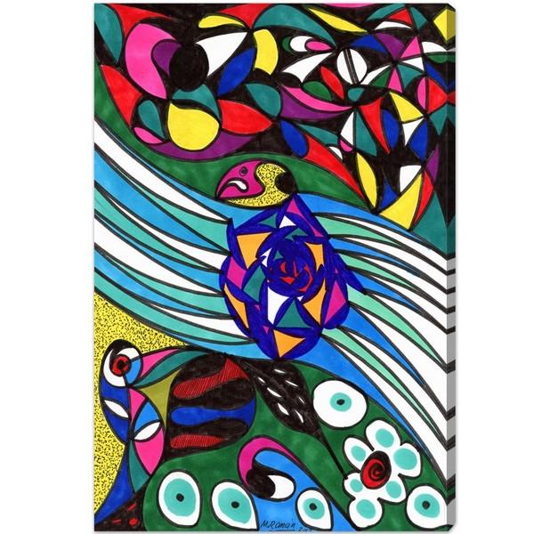 Oliver Gal 'Everglades' Canvas Art