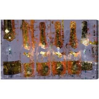 Oliver Gal 'Cristal on Crystal' Canvas Art