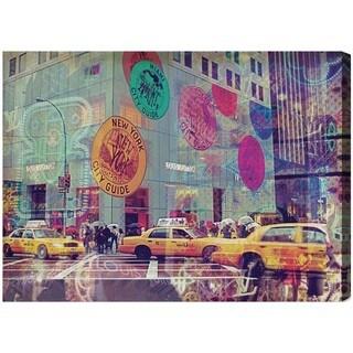 Oliver Gal 'NYC Fashion Taxi' Canvas Art