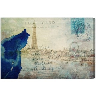 Oliver Gal 'The Port' Canvas Art