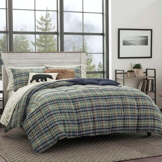 Eddie Bauer Rugged Plaid 3-piece Down Alternative Comforter Set