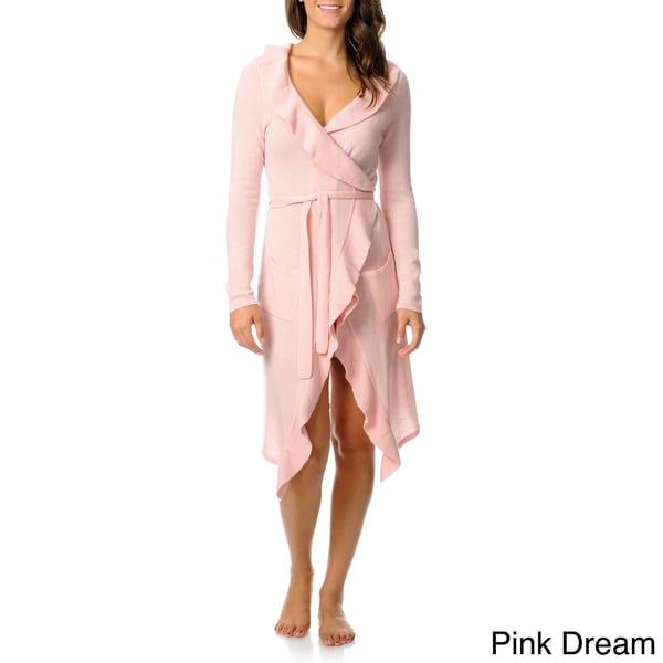 Ply Cashmere Women's Ruffle Robe