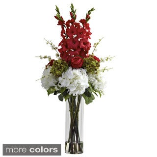 Giant Mixed Floral Arrangement/ Vase