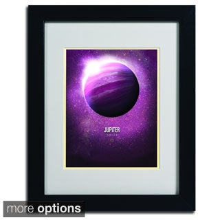 Christian Jackson 'Jupiter' Framed Matted Art