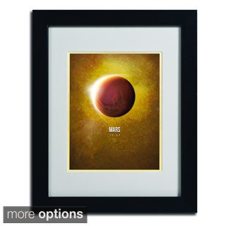 Christian Jackson 'Mars' Framed Matted Art