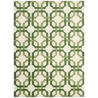 Waverly Artisanal Delight Groovy Grille Leaf Area Rug by Nourison (4' x 6') - 4' x 6'