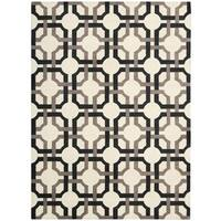 Waverly Artisanal Delight Groovy Grille Licorice Area Rug by Nourison - 5' x 7'