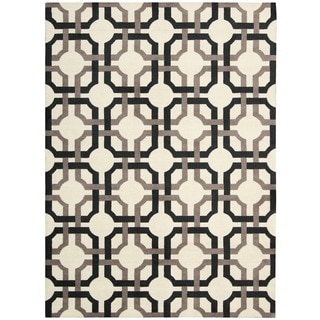 Waverly Artisanal Delight Groovy Grille Licorice Area Rug by Nourison (8' x 10')