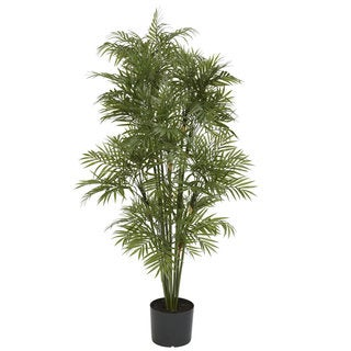 Plastic Parlour Palm Tree