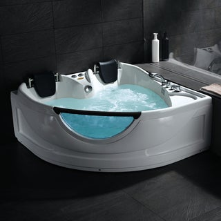 whirlpool tub.  Whirlpool Bathtub Free Shipping Today Overstock com 15682724