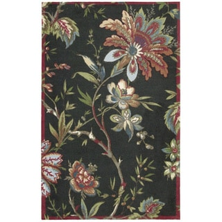 Waverly Artisanal Delight Felicite Noir Area Rug by Nourison (5' x 7')
