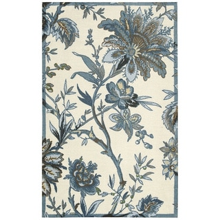 Waverly Artisanal Delight Felicite Indigo Area Rug by Nourison (5' x 7')