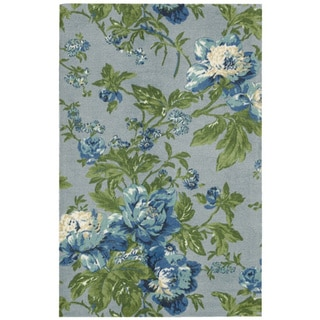Waverly Artisanal Delight Forever Yours Sky Area Rug by Nourison (8' x 10')