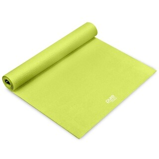 Pure Fitness 3.5mm Yoga Mat - Lime - Limey Yellow - 68x24