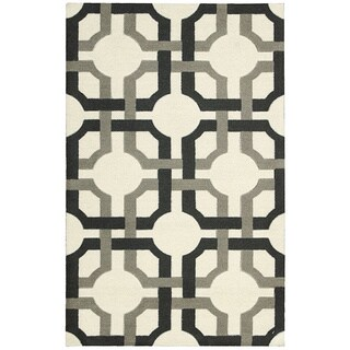 Waverly Artisanal Delight Groovy Grille Licorice Area Rug by Nourison (2'6 x 4')
