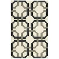 Waverly Artisanal Delight Groovy Grille Licorice Area Rug by Nourison - 2'6 x 4'