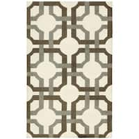 Waverly Artisanal Delight Groovy Grille Tobacco Area Rug by Nourison - 2'6 x 4'