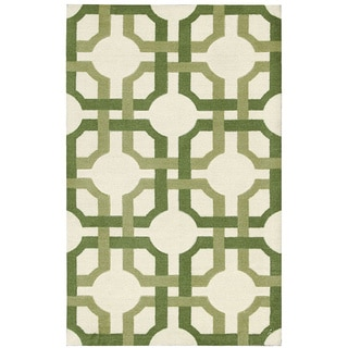 Waverly Artisanal Delight Groovy Grille Leaf Area Rug by Nourison (2'6 x 4')