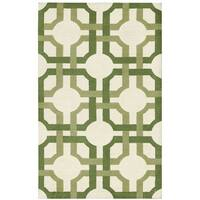 Waverly Artisanal Delight Groovy Grille Leaf Area Rug by Nourison - 2'6 x 4'