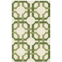 Waverly Artisanal Delight Groovy Grille Leaf Area Rug by Nourison (2'6 x 4') - 2'6 x 4'