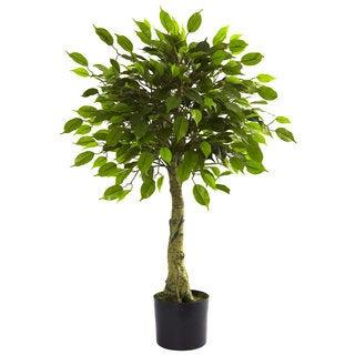 3-foot UV Resistant Ficus Tree