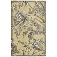 Waverly Artisanal Delight Fanciful Ironstone Area Rug by Nourison - 4' x 6'