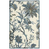 Waverly Artisanal Delight Felicite Indigo Area Rug by Nourison (2'6 x 4') - 2'6 x 4'