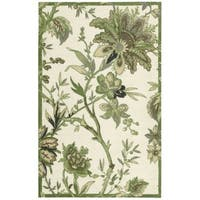 Waverly Artisanal Delight Felicite Leaf Area Rug by Nourison (2'6 x 4') - 2'6 x 4'
