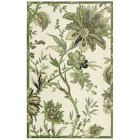 Waverly Artisanal Delight Felicite Leaf Area Rug by Nourison (8' x 10') - 8' x 10'