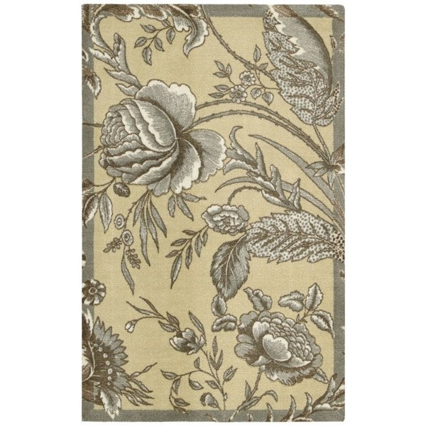Waverly Artisanal Delight Fanciful Ironstone Area Rug by Nourison - 8' x 10'