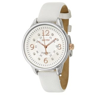 Sector Women's 'Action' Crystal-accented Swiss Quartz Watch