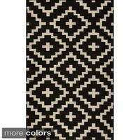 Momeni Laguna Hand-Woven Wool Rug - 3'6 x 5'6