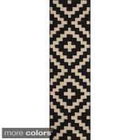 Momeni Laguna Hand-Woven Wool Runner Rug - 2'3 x 8'
