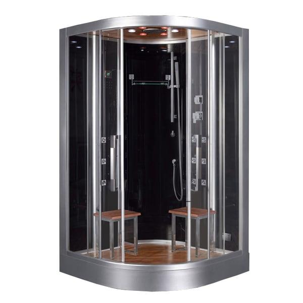 Ariel Platinum DZ962F8 BLCK Steam Shower