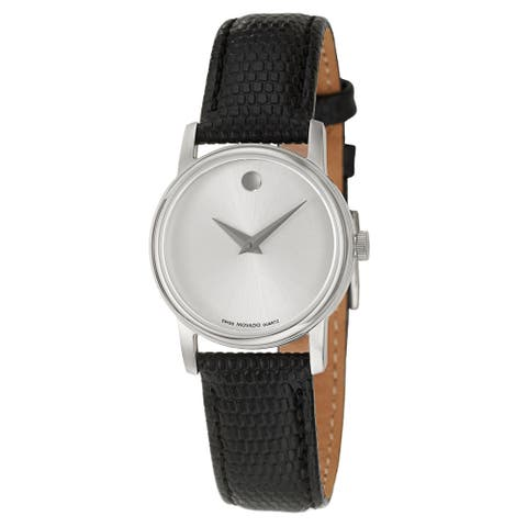 Movado Women's 2100003 'Collection' Stainless Steel Swiss Quartz Watch
