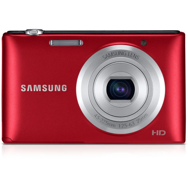 Samsung ST72 16.2MP Red Digital Camera