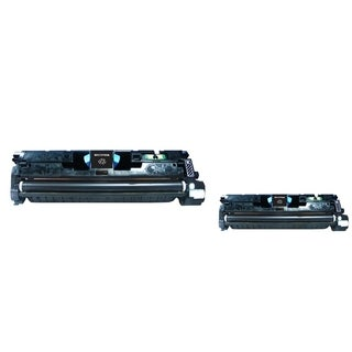 INSTEN Black Toner Cartridge for HP C9700A/ Q3960A (Pack of 2)
